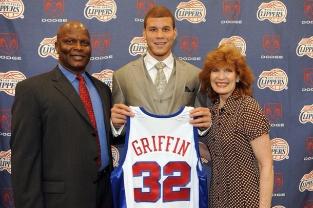 TIL Blake Griffin is the absolute perfect mixture of his parents