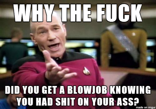 bad blow job Describe a bad blowjob - GIF on Imgur.