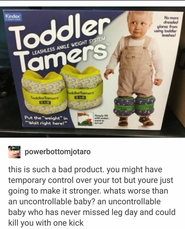 Toddler strength