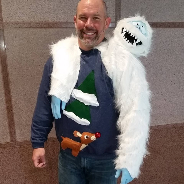 Ugly Christmas Sweater Winner