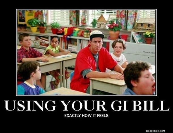 using your gi bill 14028 using your gi bill meme guy