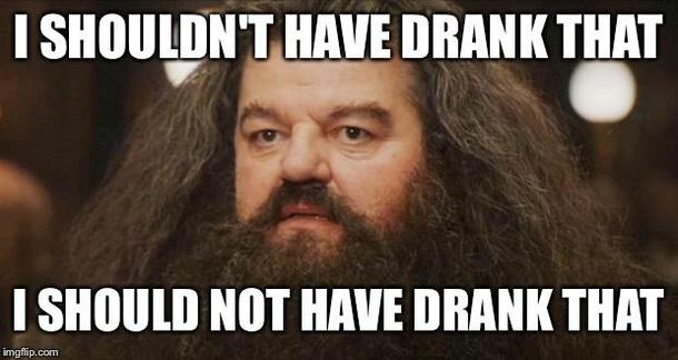 Waking up on Sunday morning with a hangover - Meme Guy