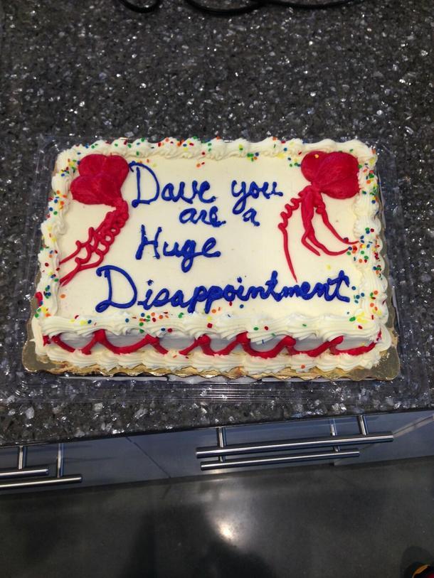 We Got A Birthday Cake For Our Intern Today Meme Guy