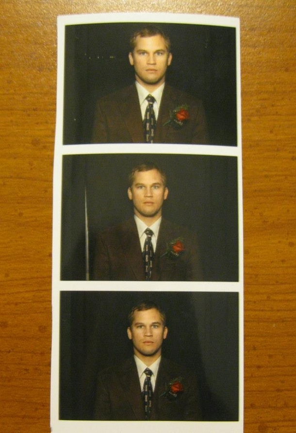 We had a photo booth at our wedding I think my brother in law doesnt understand how photobooths work
