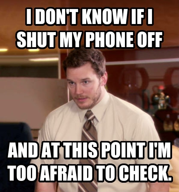 we have a strict no phones policy at my job and if a