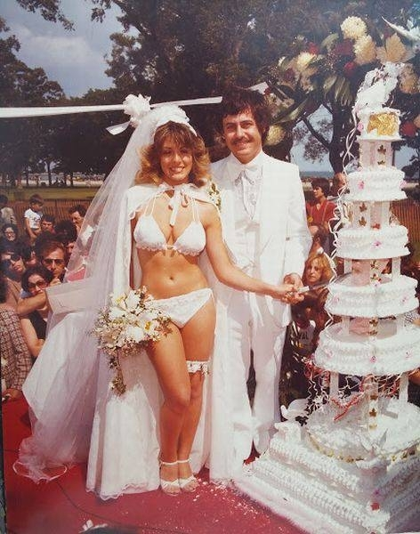 Weddings apparently used to be WAY cooler