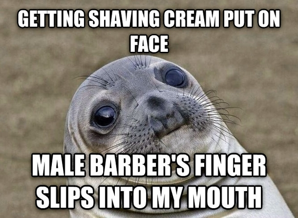 Fancy Meme: Went To A Fancy Barbershop For A Haircut And Shave Today