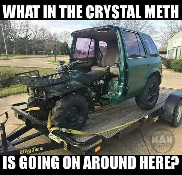 What In The Crystal Meth Meme Guy