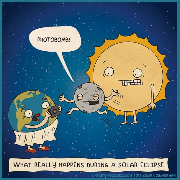 What really happens during a solar eclipse