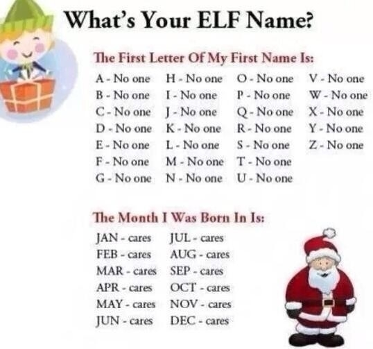 Whats Your Elf Name Up With Amtrak
