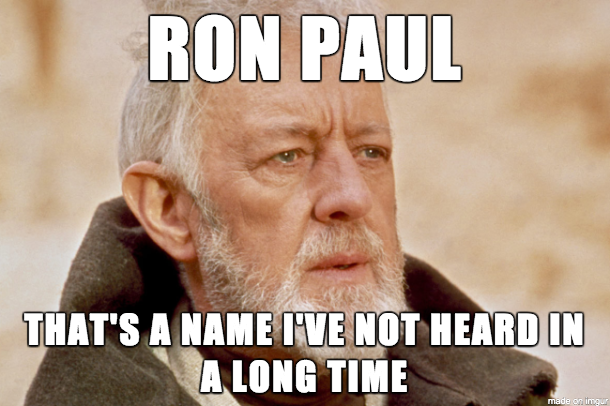 when i see a ron paul meme hit the front page on rall 265447 when i see a ron paul meme hit the front page on rall meme guy