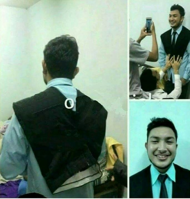 When you dont have a suit but need one