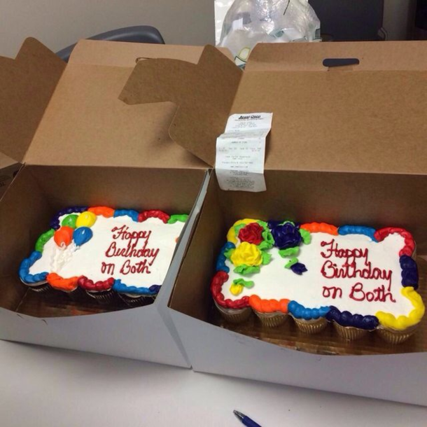 When You Order Two Cakes With Happy Birthday On Both Meme Guy