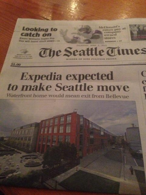 Where the hell is Seattle supposed to go Expedia