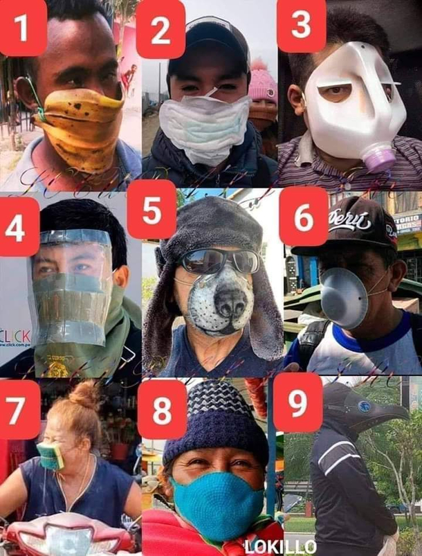 Which mask You likes guys
