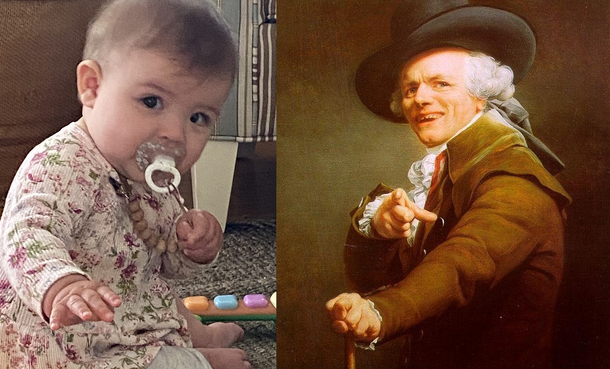 Wife sent me this picture of our daughter today and I instantly thought of this
