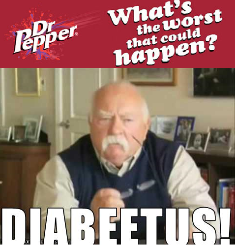 Wilford Brimleys Comment On Dr Pepper Meme Guy