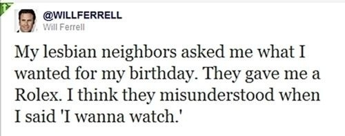 Will Ferrell Tweets