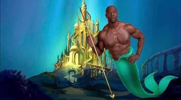 With the new Little Mermaid coming out I think we all know who should be cast as Poseidon