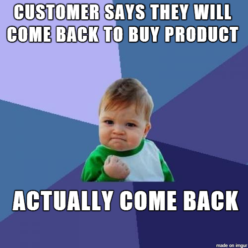 Working In Sales This Is Such A Great Feeling Meme Guy