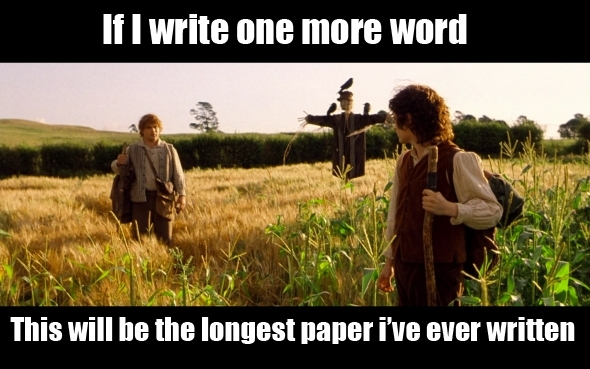 I hate writing papers
