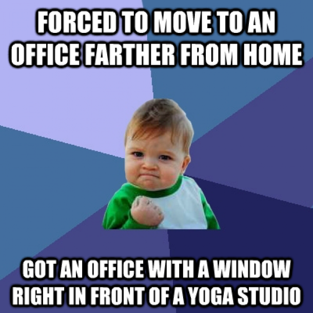 Yoga Pants Everywhere I Fear For My Productivity