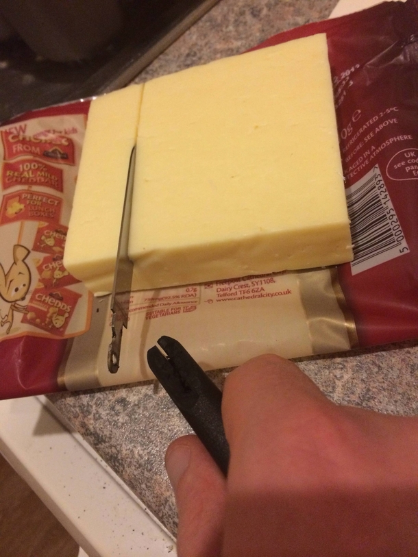 You win this round cheese