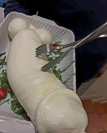 And yes we got mozzarella this big