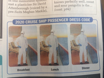 Cruise Ship Passenger Dress Code