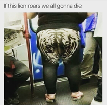 if this tiger roars someones gonna die