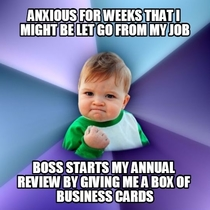 My Annual Review at Work