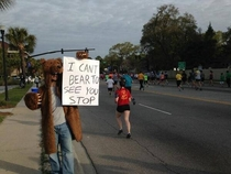 people ran the Cooper River Bridge Run home of ridiculously photogenic guy Saturday Here is how I cheered them on