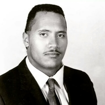 year old Dwayne Johnson looking older than current Dwayne Johnson