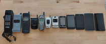 years of mobile phones My cell phone cemetery
