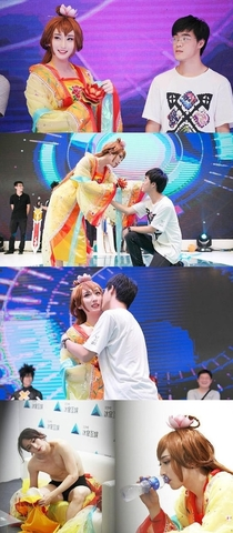A boy falls in love with a cosplayer