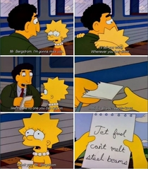 A classic Simpsons moment