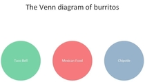 A comprehensive Venn diagram of burrito types