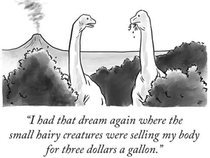 A Dinosaurs dream