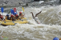 A friend of mine is in Australia this is what happened when she went rafting