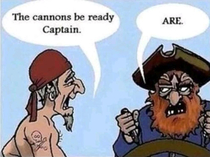 A Grammar Pirate
