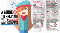 A guide to pelting your girlfriend with a snowball