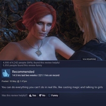 A honest witcher  review