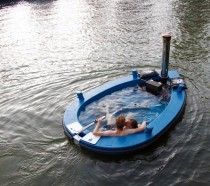 A hot tub boat Bitch please You can rent this for a trip through the canals of Amsterdam