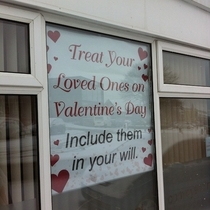 A law firm in my home town is so romantic