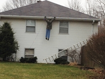 A lot of people are falling for our neighbors Christmas display