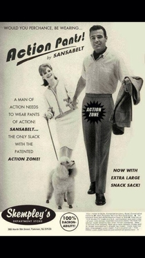 A man of action needs an extra large snack sack