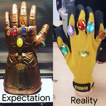A mate of mine ordered an infinity gauntlet from a dodgy website that only asked for postage Got his card cloned had various credit accounts opened in his name and received this in the post weeks later