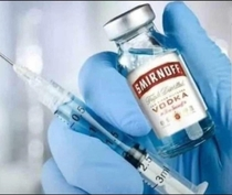 A photo of the first vaccine about to be distributed in Russia has been leaked