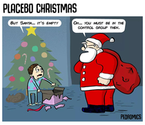 A placebo Christmas