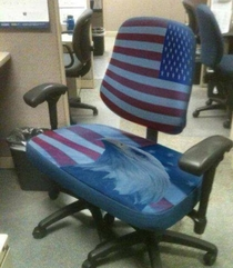 A proper American desk chair